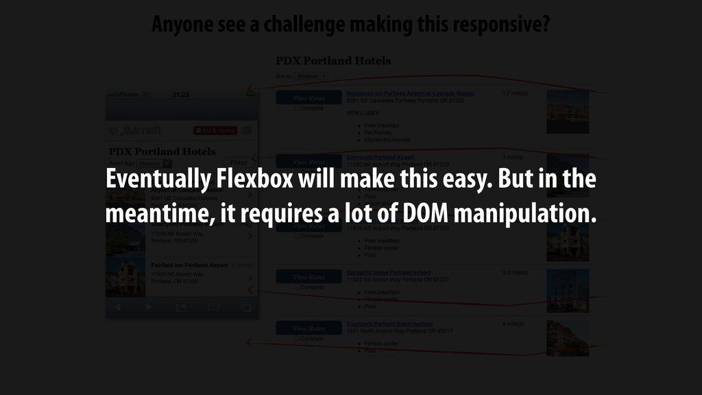 Anyone see a challenge making this responsive? ...