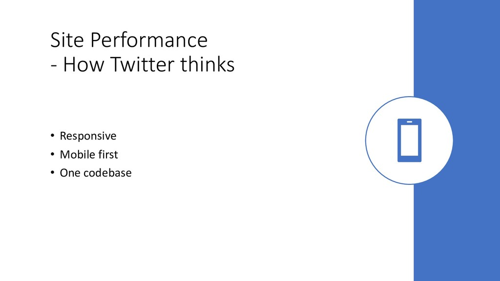 Site Performance - How Twitter thinks • Respons...