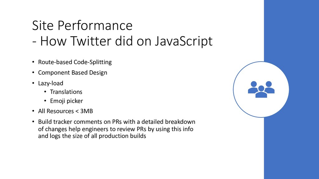 Site Performance - How Twitter did on JavaScrip...