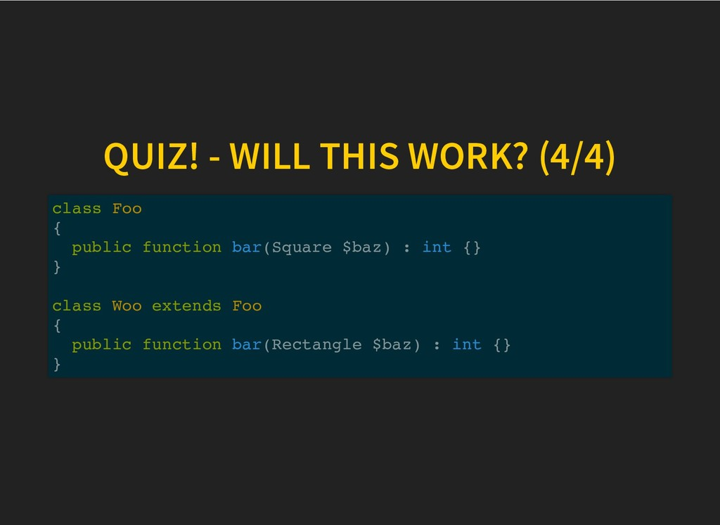 QUIZ! - WILL THIS WORK? (4/4) QUIZ! - WILL THIS...