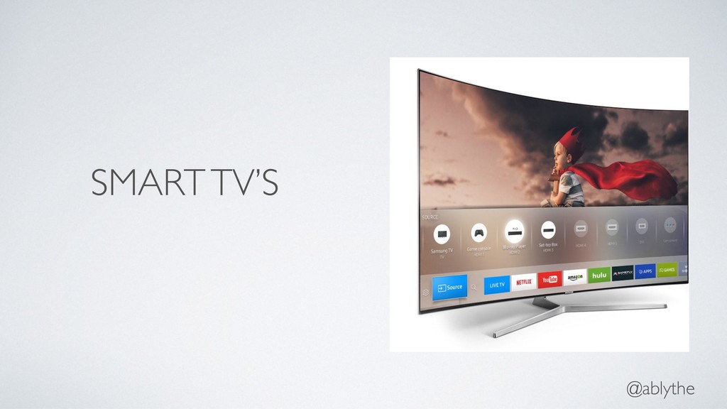@ablythe SMART TV'S