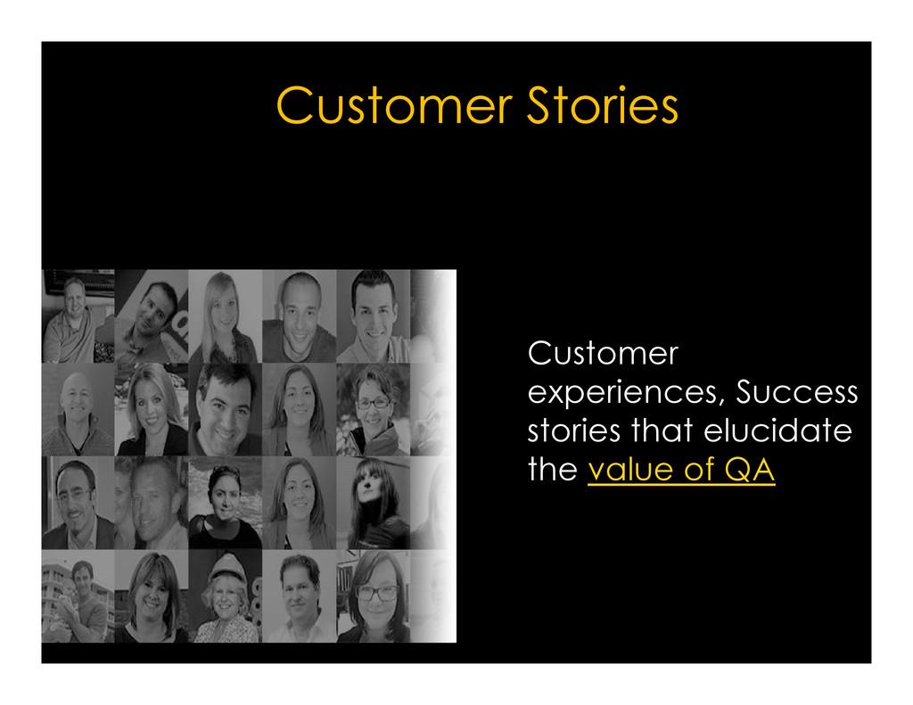 Customer Stories Customer Customer experiences,...