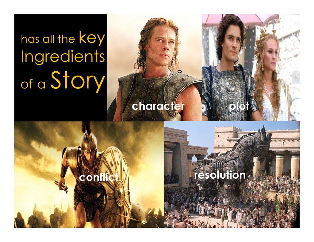 has all the key Ingredients of a Story characte...
