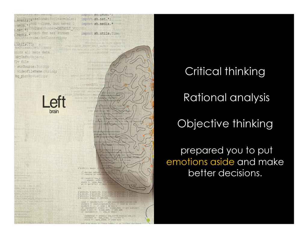 Critical thinking Rational analysis Objective t...