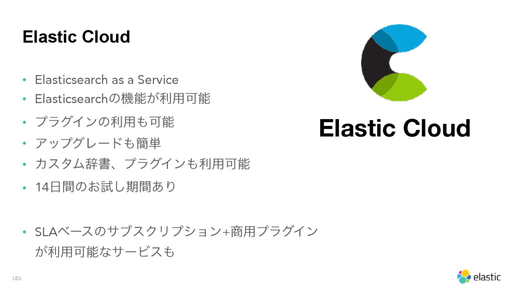 Elastic Cloud • Elasticsearch as a Service • El...