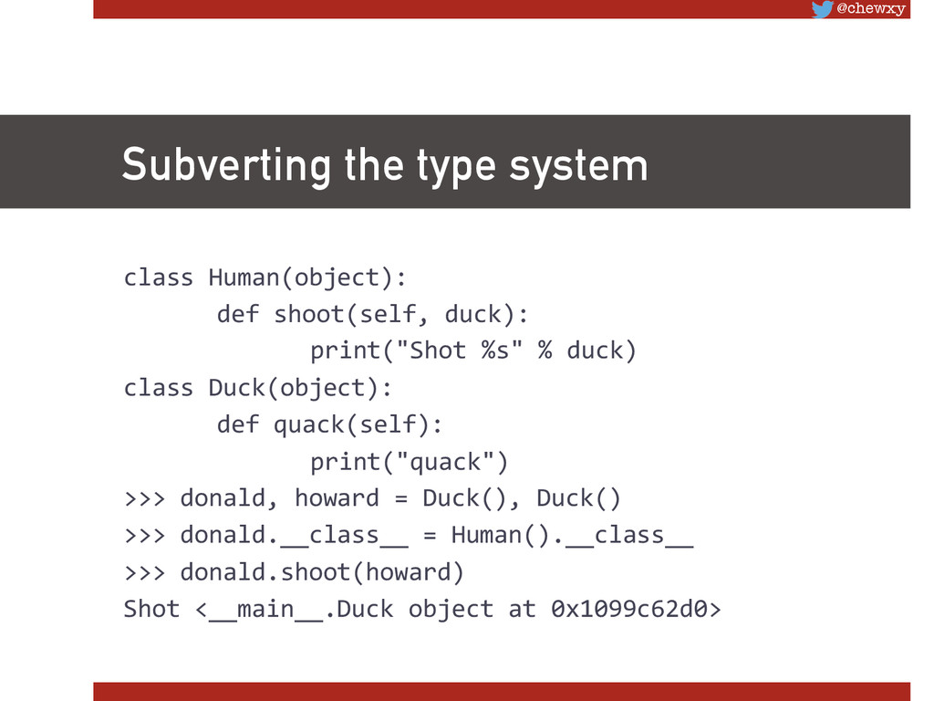 @chewxy Subverting the type system class Hu...