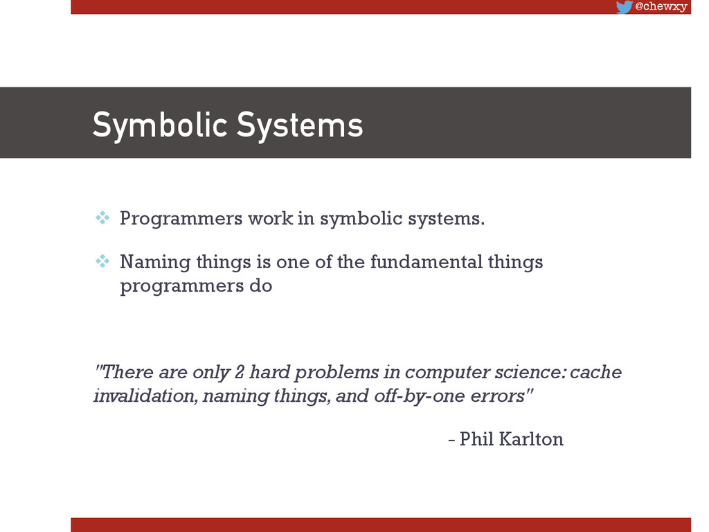 @chewxy Symbolic Systems v Programmers work ...