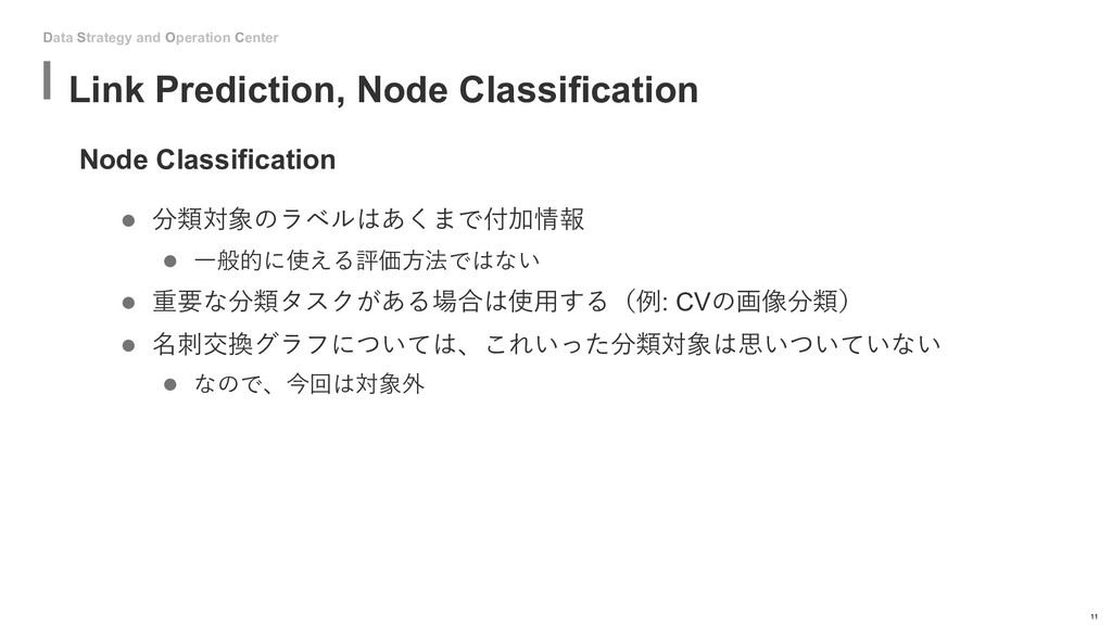 Data Strategy and Operation Center Node Classif...