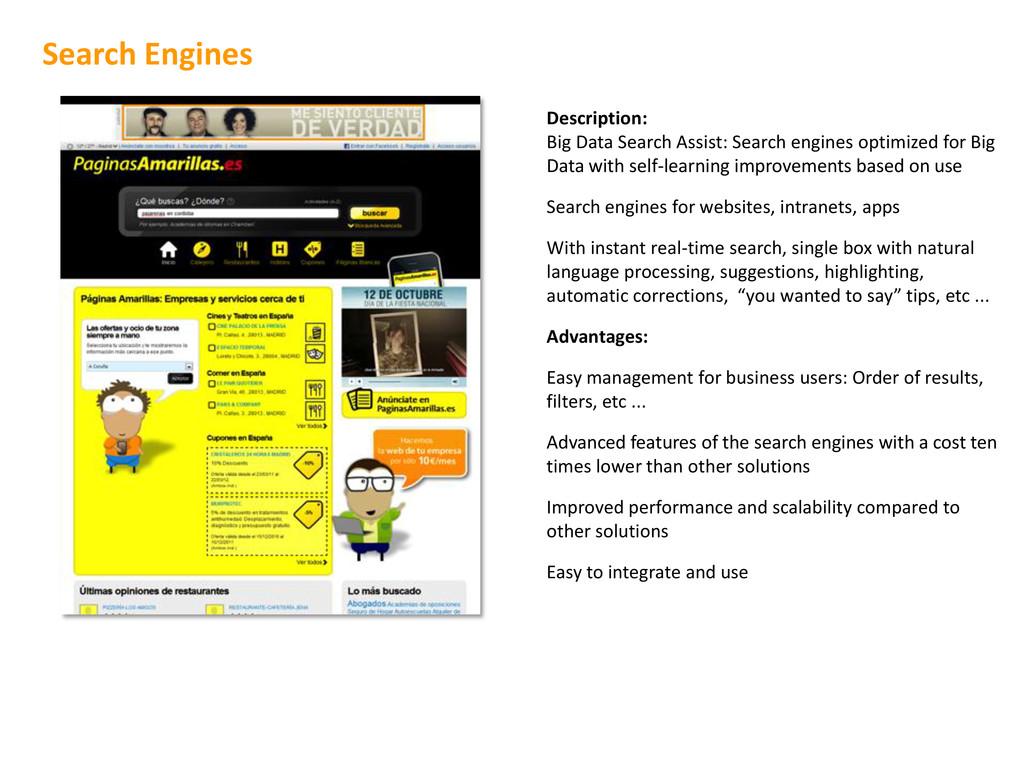 Description: Big Data Search Assist: Search eng...
