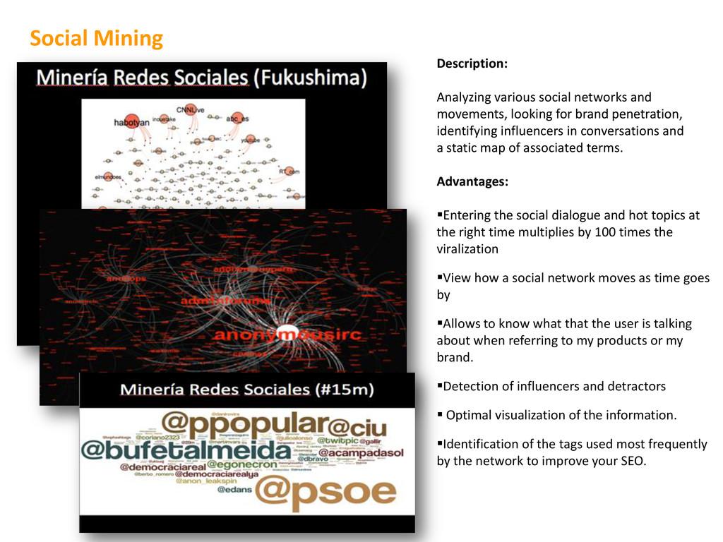 Description: Analyzing various social networks ...