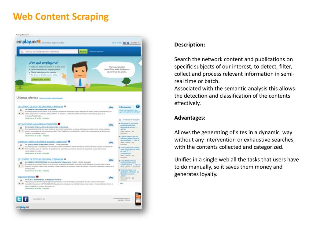 Description: Search the network content and pub...