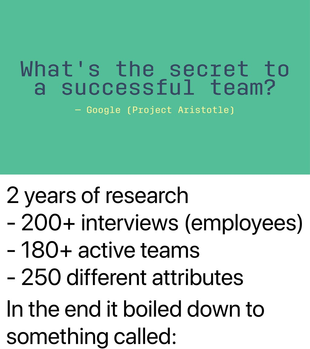 2 years of research - 200+ interviews (employee...