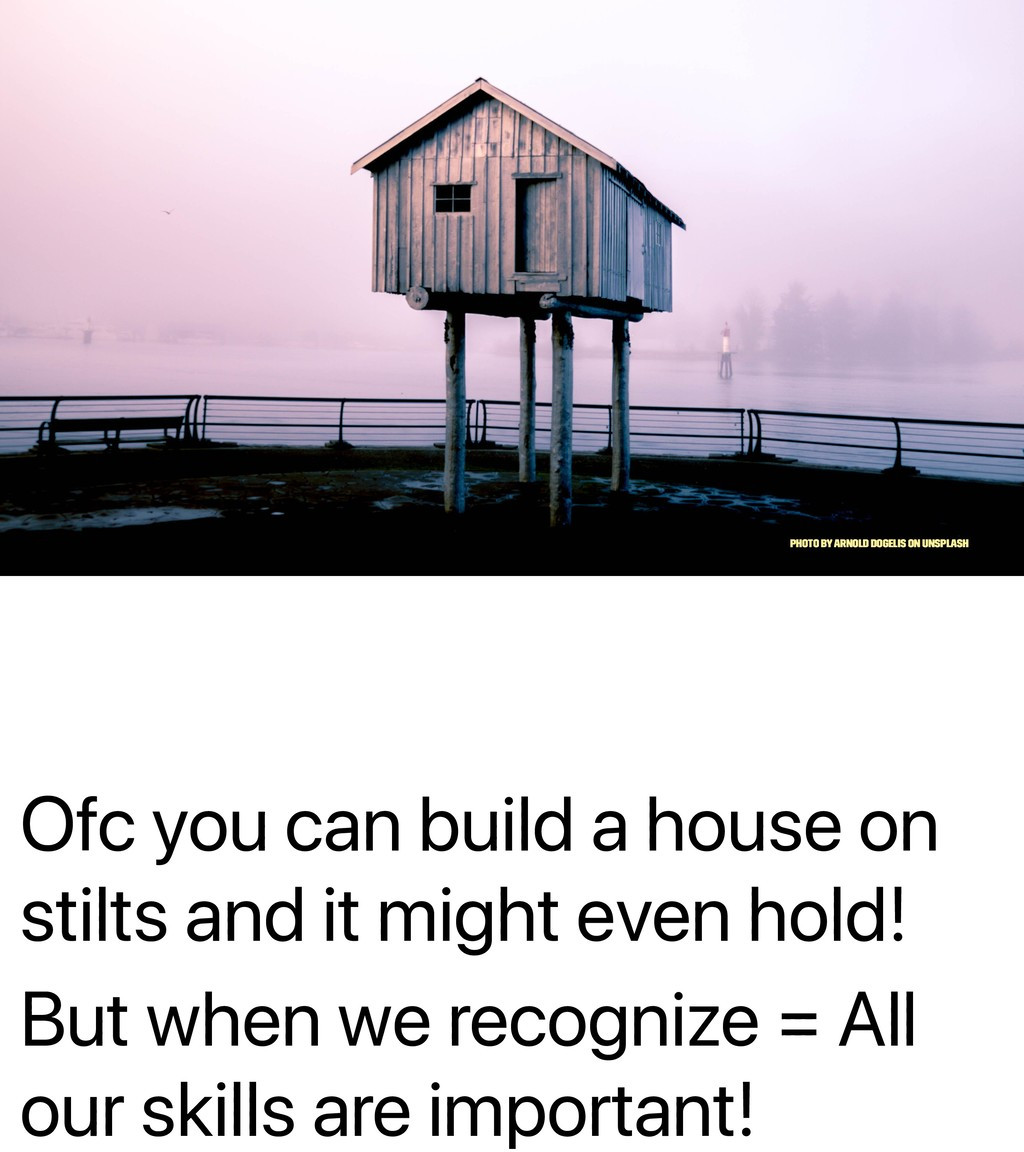 Ofc you can build a house on stilts and it migh...