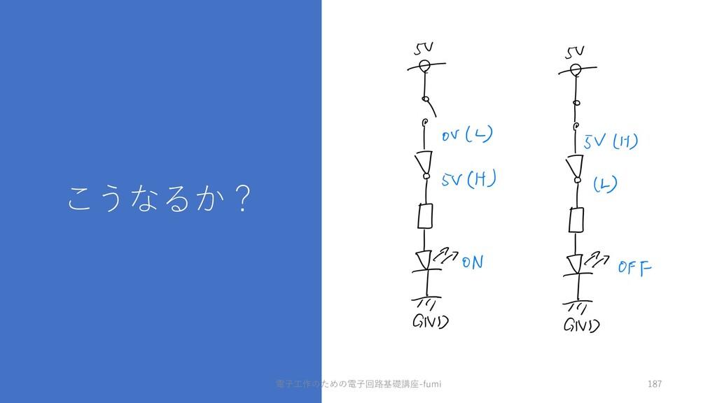 こうなるか? 187 電⼦⼯作のための電⼦回路基礎講座-fumi