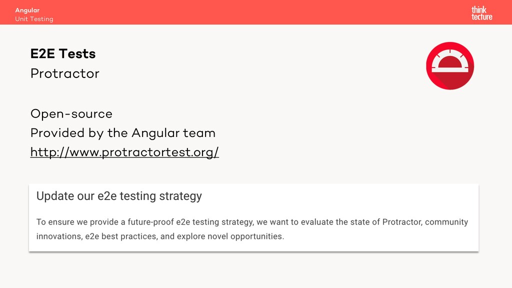 Protractor Open-source Provided by the Angular ...