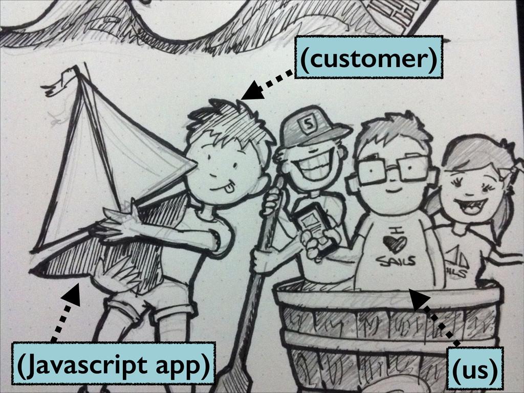 (us) (customer) (Javascript app)