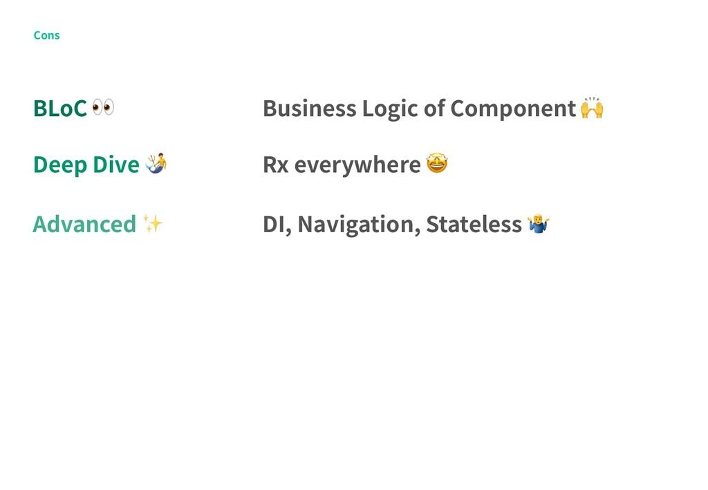 Cons BLoC  Deep Dive  Advanced ✨ Business Logic...