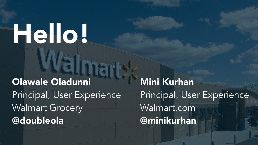 Hello! Mini Kurhan Principal, User Experience W...