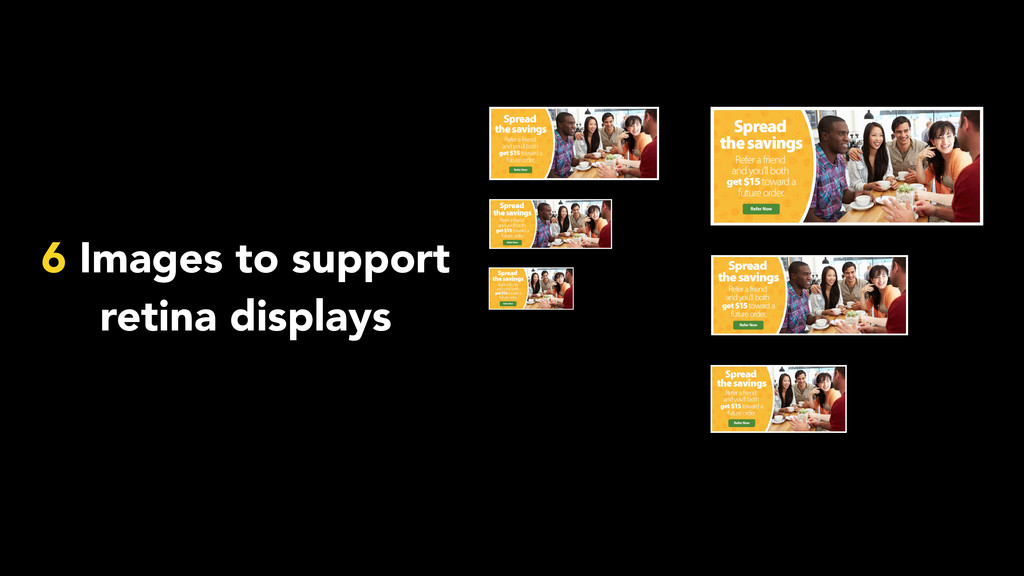 6 Images to support retina displays