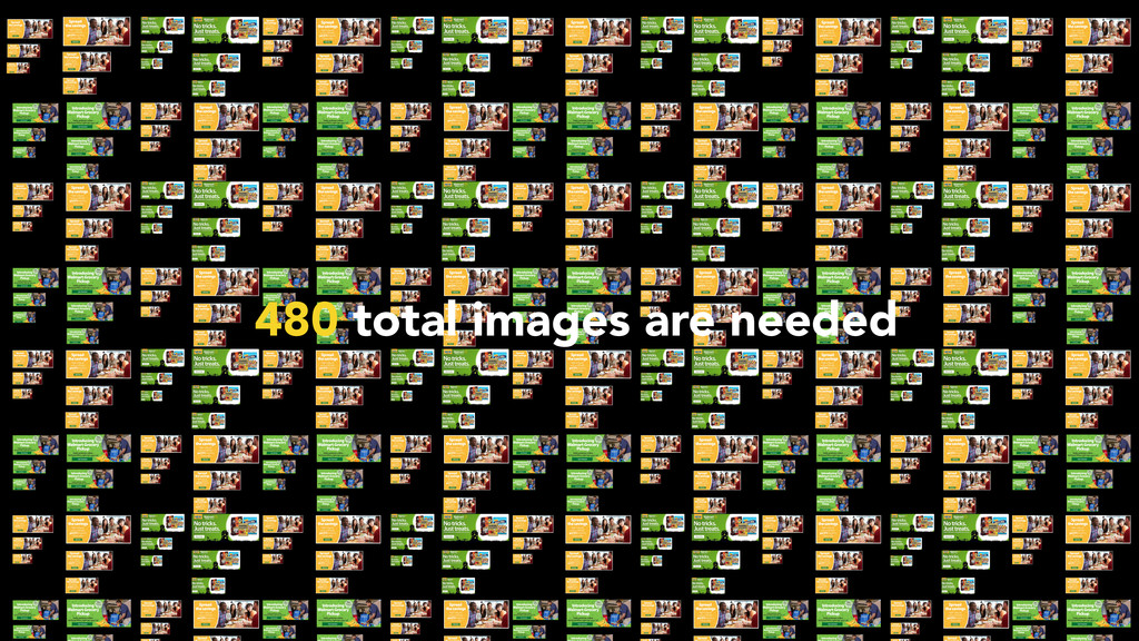 480 total images are needed