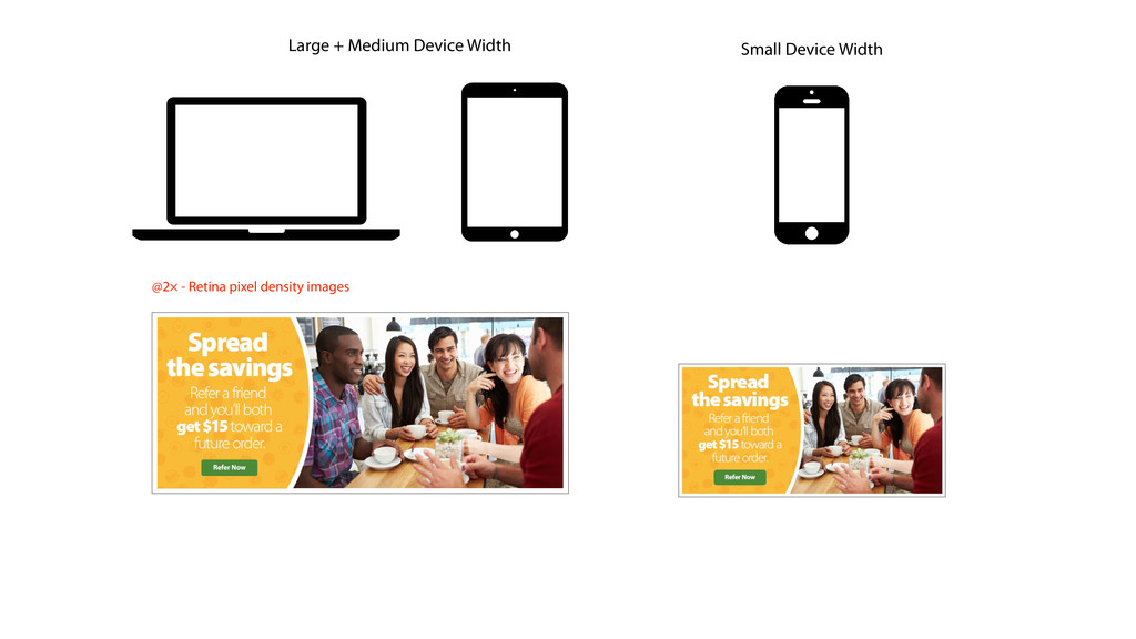 Large + Medium Device Width Small Device Width ...