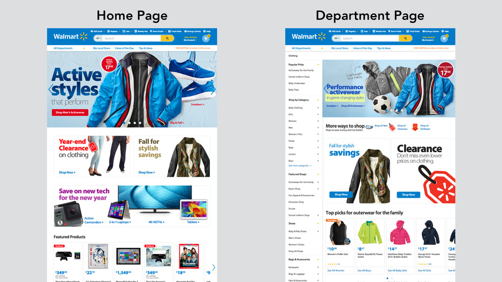 Home Page Department Page