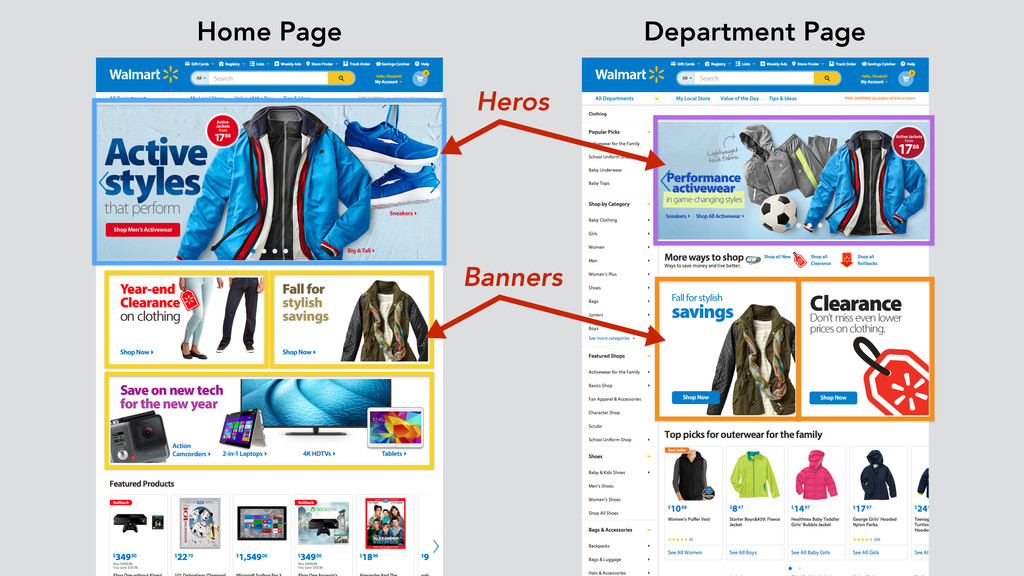 Heros Banners Home Page Department Page