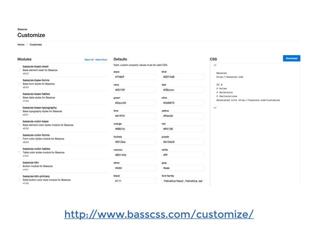 http:/ /www.basscss.com/customize/