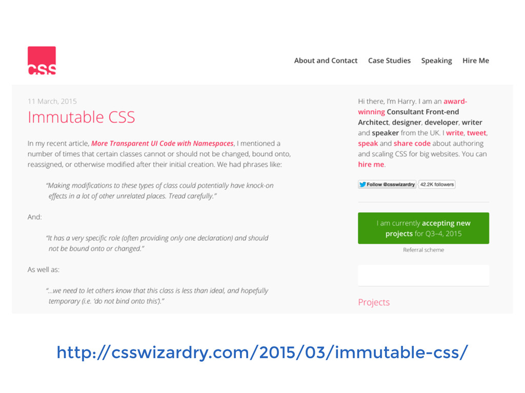 http:/ /csswizardry.com/2015/03/immutable-css/