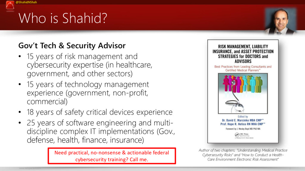 www.netspective.com 2 @ShahidNShah Who is Shahi...