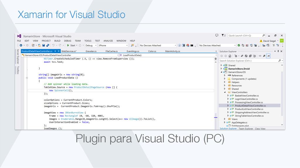 Xamarin for Visual Studio Plugin para Visual S...