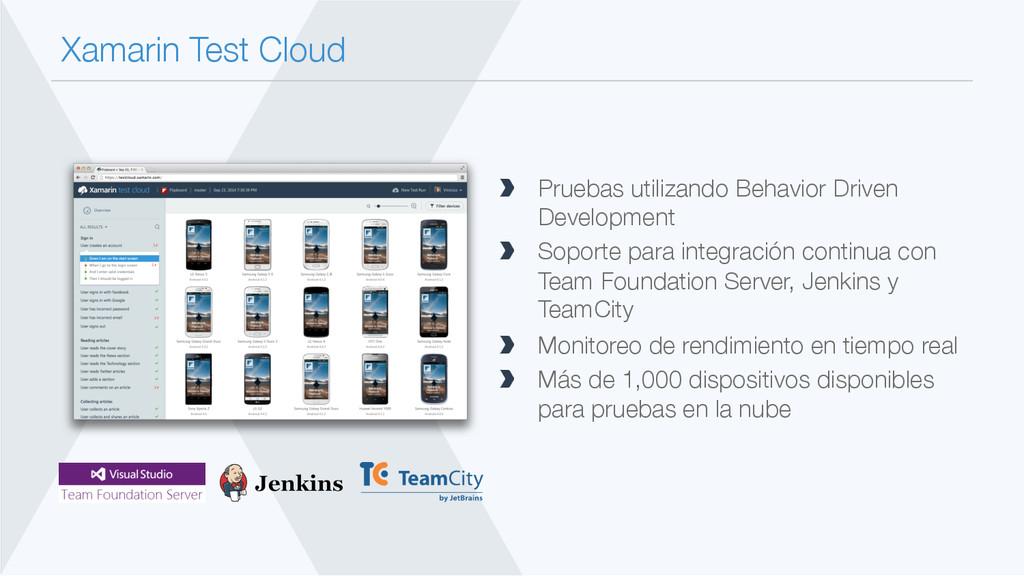 Xamarin Test Cloud  Pruebas utilizando Behavi...