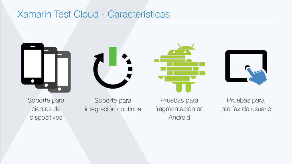 Xamarin Test Cloud - Características Pruebas p...