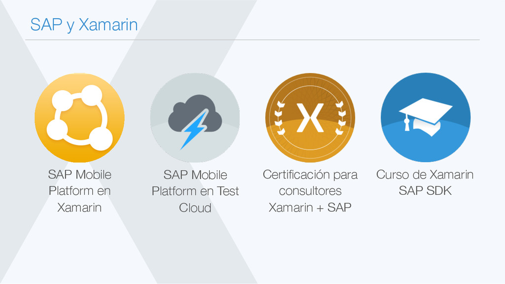 SAP y Xamarin Curso de Xamarin SAP SDK Certifi...