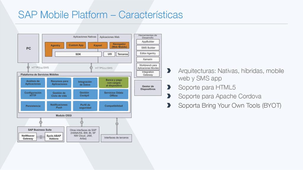 SAP Mobile Platform – Características  Arquit...