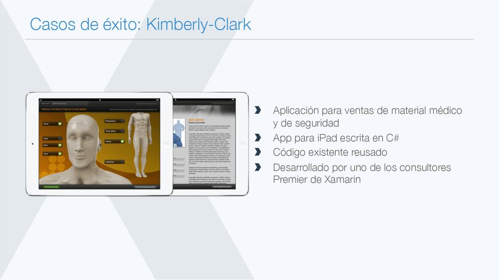 Casos de éxito: Kimberly-Clark  Aplicación pa...