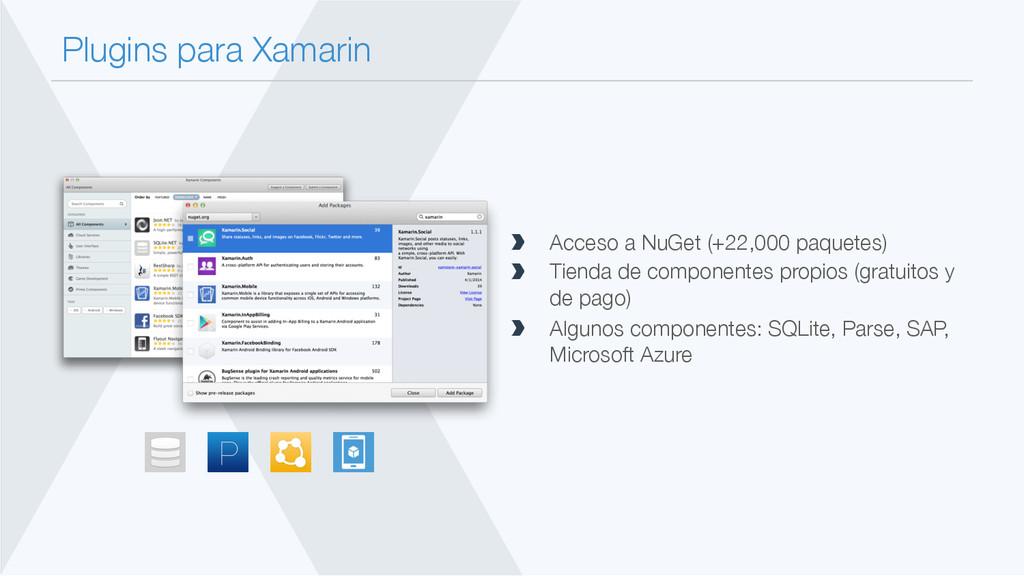 Plugins para Xamarin  Acceso a NuGet (+22,000...