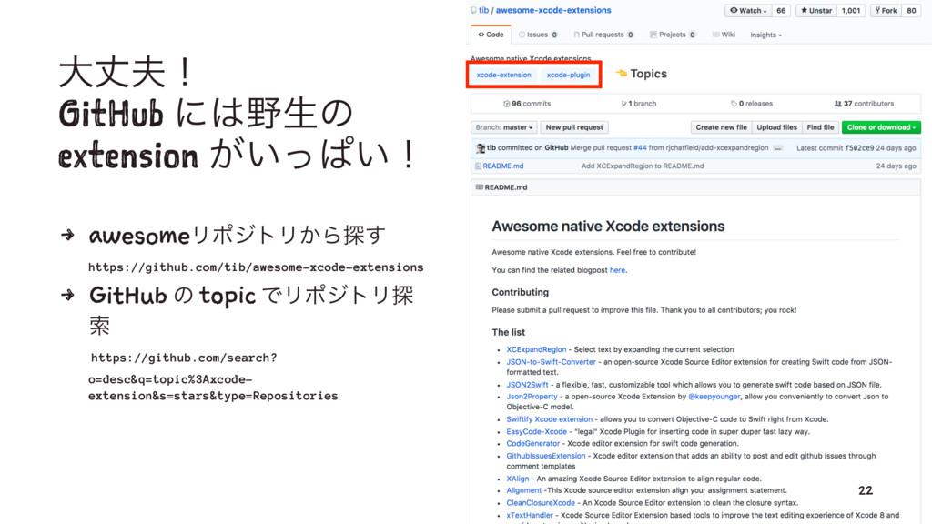 େৎʂ GitHub ʹੜͷ extension ͕͍ͬͺ͍ʂ 4 awesomeϦϙδ...