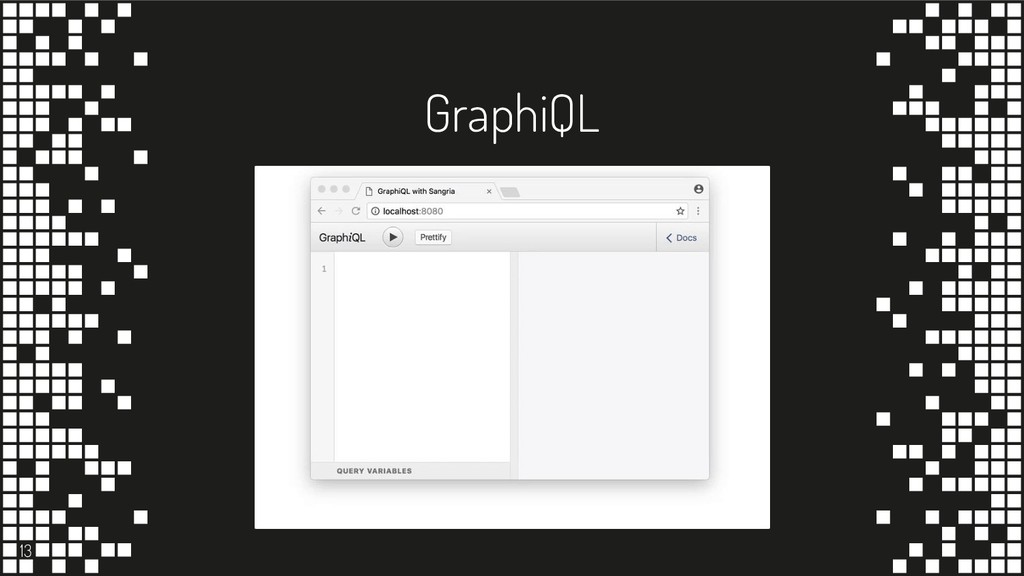 GraphiQL 13