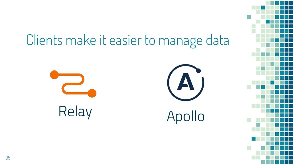 Clients make it easier to manage data Relay Apo...