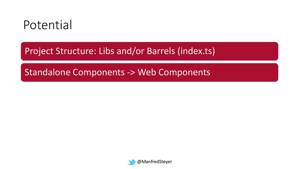 @ManfredSteyer Potential Project Structure: Lib...