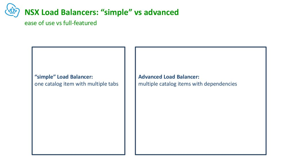 """NSX Load Balancers: """"simple"""" vs advanced ease o..."""