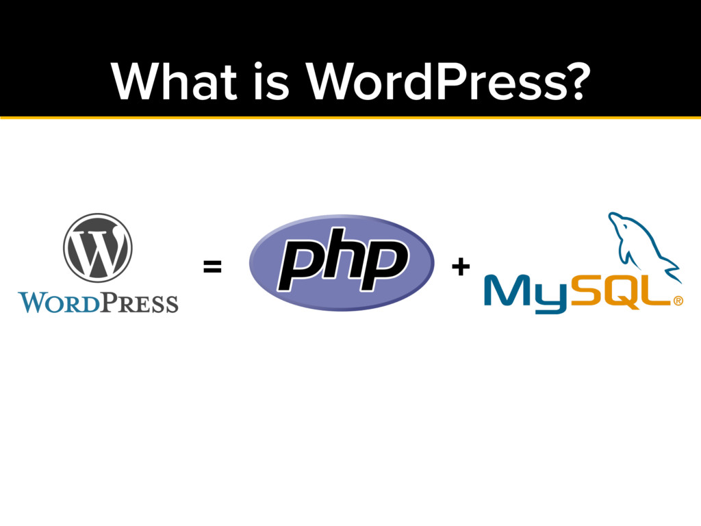 What is WordPress? = +