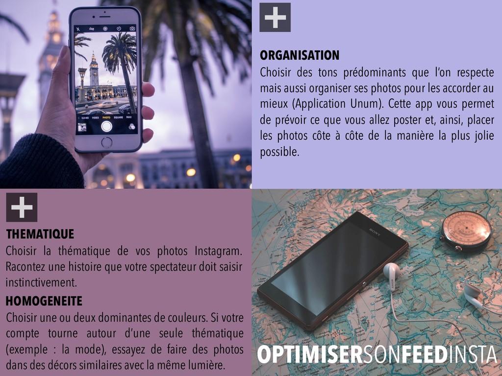 + Choisir la thématique de vos photos Instagram...