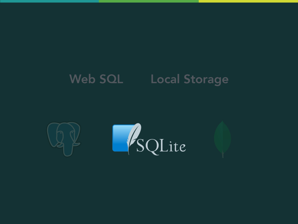 Web SQL Local Storage