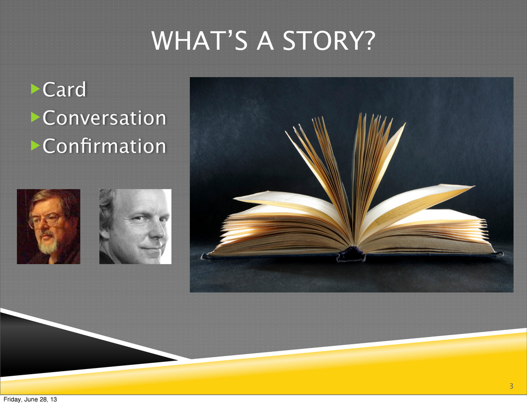 3 WHAT'S A STORY? Card Conversation Confirmat...