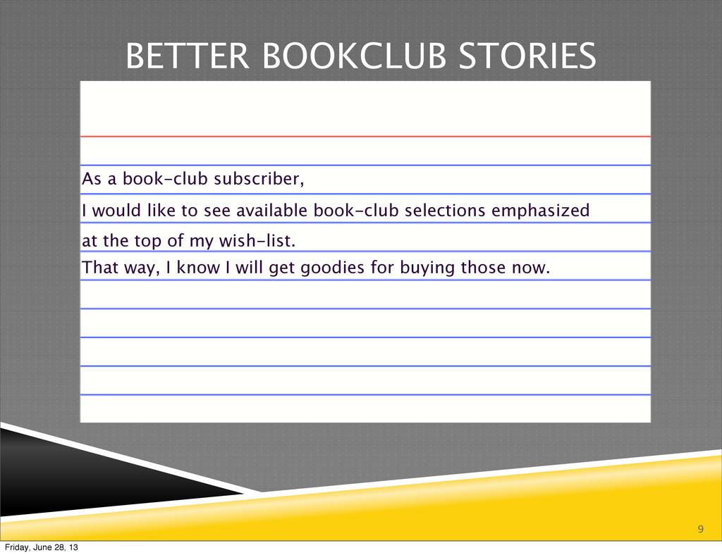 9 BETTER BOOKCLUB STORIES As a book-club subscr...