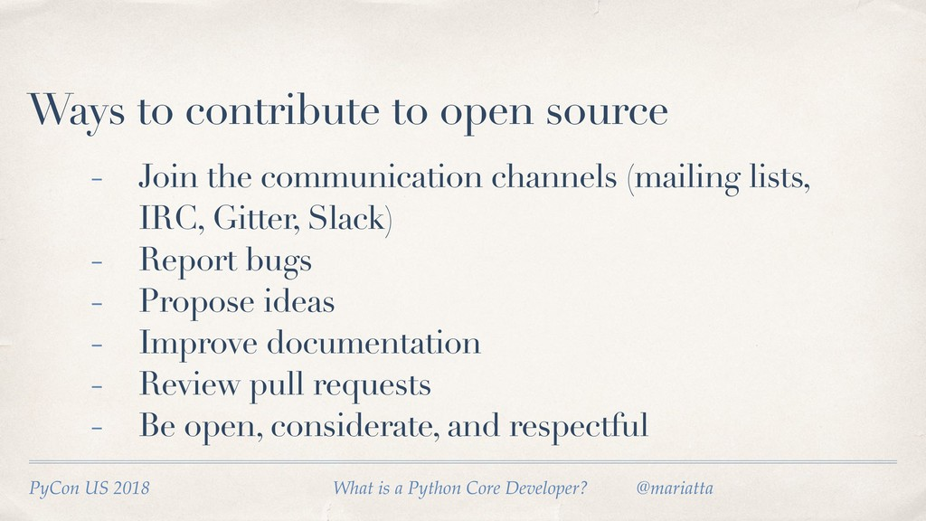 Ways to contribute to open source - Join the co...