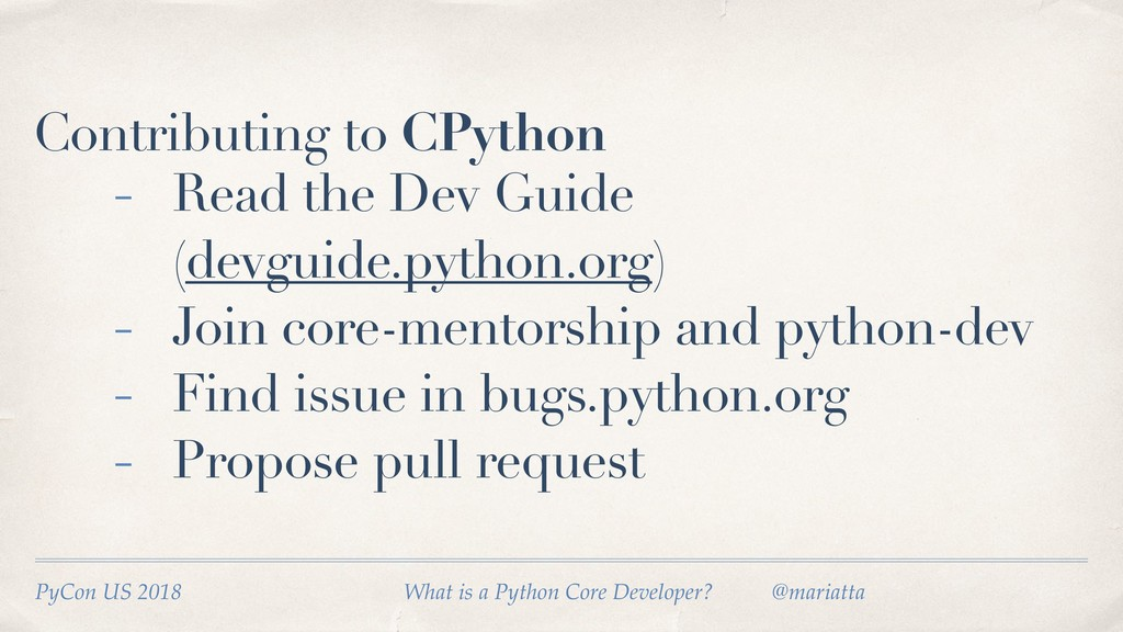 Contributing to CPython - Read the Dev Guide (d...
