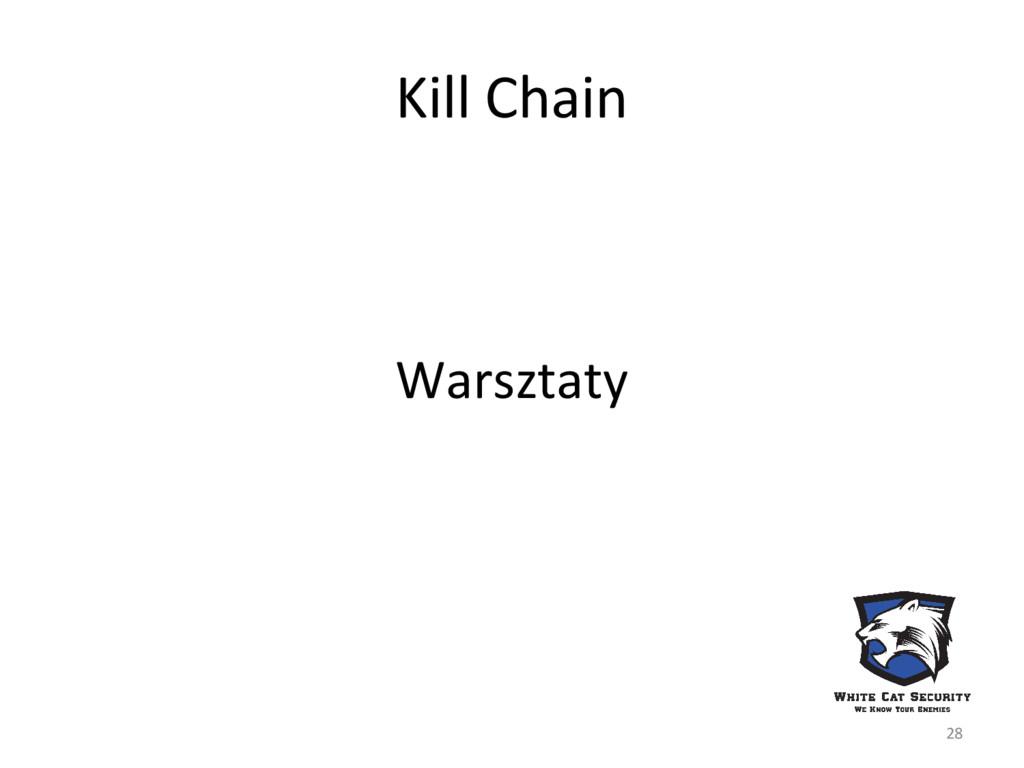 Kill Chain Warsztaty 28